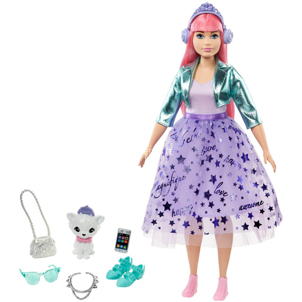 BARBIE DHA PRINCESS ADVENTURES DELUXE PRINCESS DAISY WITH ACCESSORIES