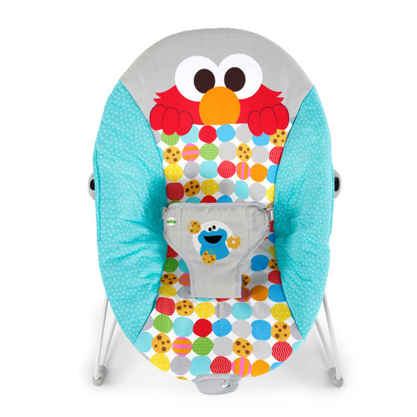 BRIGHT STARTS I SPOT ELMO! VIBRATING BOUNCER