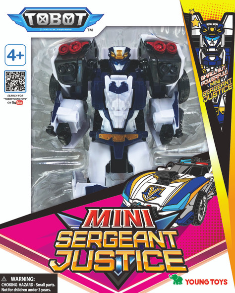 TOBOT GALAXY DETECTIVES MINI SERGEANT JUSTICE