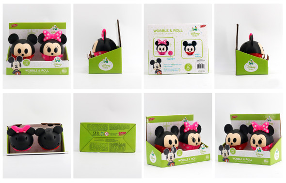 MICKEY AND MINNIE ROLLING BALL (SET)