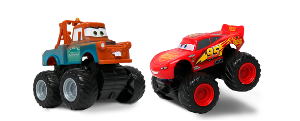 MCQUEEN & MATER FRICTION, 10CM (STYLES MAY VARY)