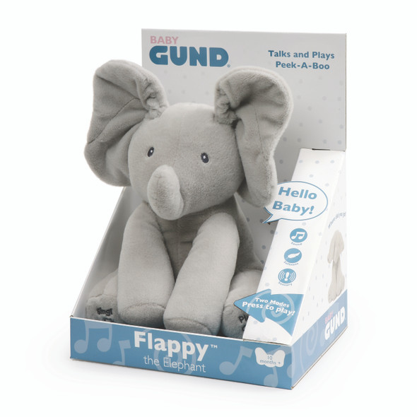 GUND ANIMATED FLAPPY ELEPHANT