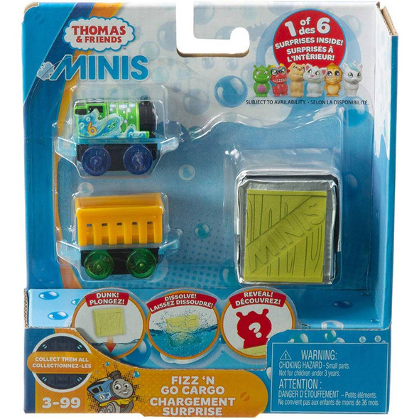 THOMAS & FRIENDS MINIS DISSOLVABLE CARGO (RANDOM ASSORTMENT)