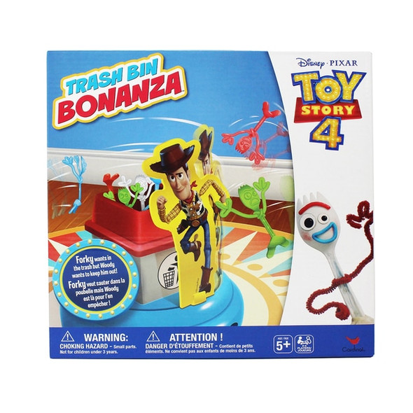 CARDINAL GAMES TOYS STORY 4 FLIPPIN' FORKY GAME