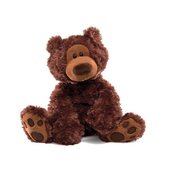 "PHILBIN CHOCOLATE BEAR 12"""