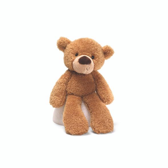 """FUZZY BEIGE BEAR 13.5"""""""