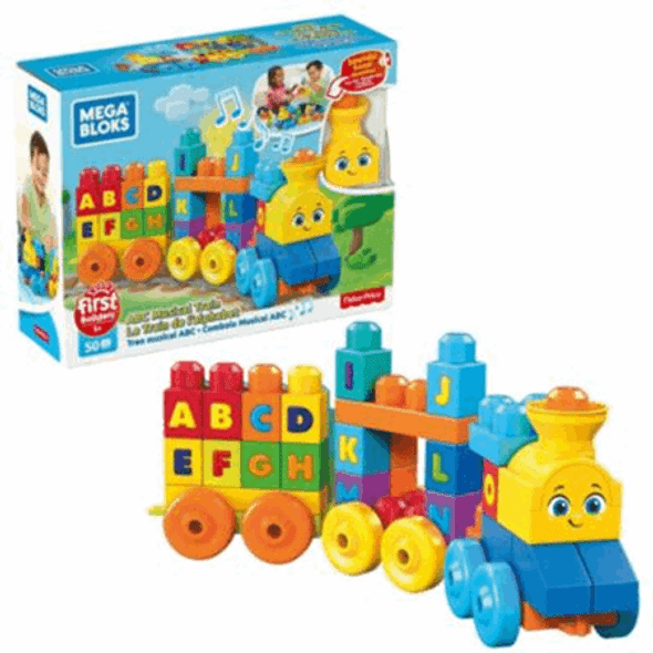 MEGABLOKS ABC LEARNING TRAIN