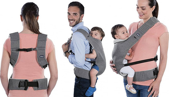 MYAMAKI BABY CARRIER CO, DENIM BEIGE