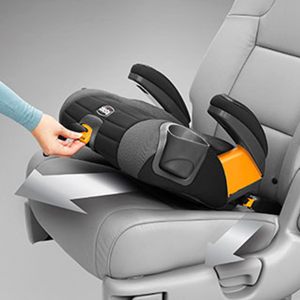 CHICCO GOFIT PLUS BOOSTER CAR SEAT - IRON