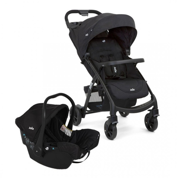 JOIE MUZE LX TRAVEL SYSTEM, COAL