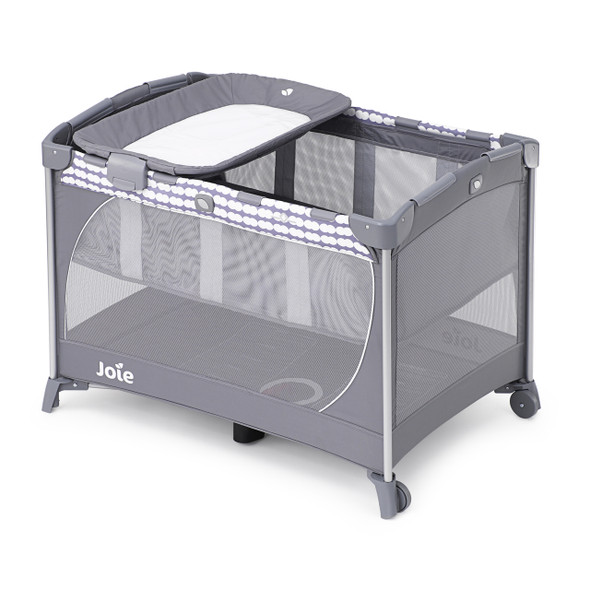 JOIE COMMUTER COT WITH CHANGING TABLE (CLOUD)