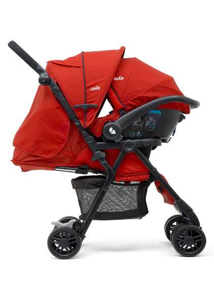 JOIE AIRE LX TRAVEL SYSTEM (LADYBIRD)