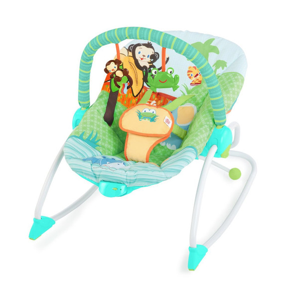BRIGHT STARTS PEEK-A-ZOO ROCKER