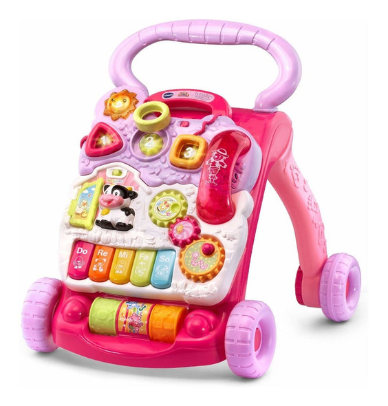 VTECH 1ST STEP BABY WALKER (PINK)