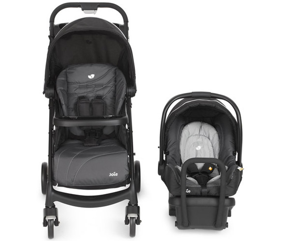 JOIE MUZE TRAVEL SYSTEM (CHARCOAL)