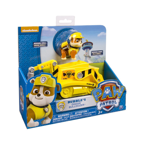 PAW PATROL FEATURE VEHICLE ASSORTMENT (TRANSFORMING VEHICLE AND LIGHT & SOUND VEHICLE)