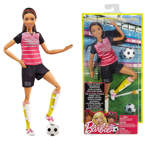 BARBIE ACTIVE SPORTS DOLL ASSORTMENT