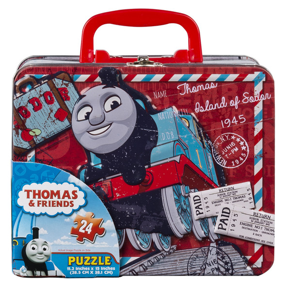 CARDINAL GAMES THOMAS PUZZLE IN TIN BOX WITH HANDLE