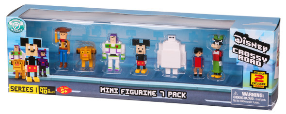 DISNEY CROSSY ROAD SEASON 1 MINI FIGURES 7-PACK