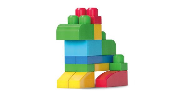 MEGA BLOKS BIG BUILDING BAG (CLASSIC) (60 PIECES)