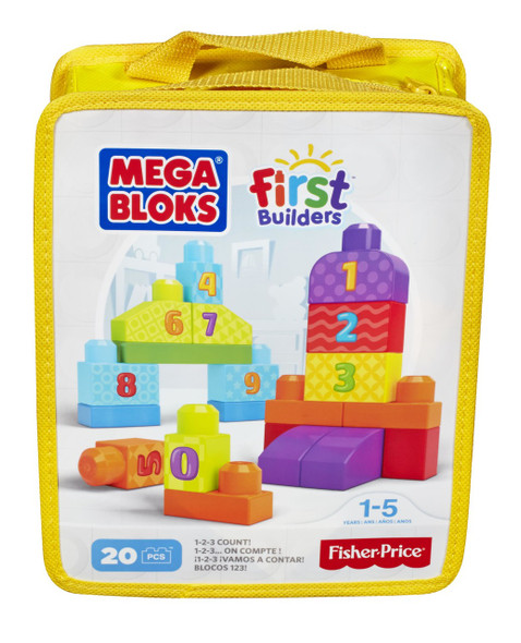 MEGA BLOKS FIRST BUILDERS ASORTMENT