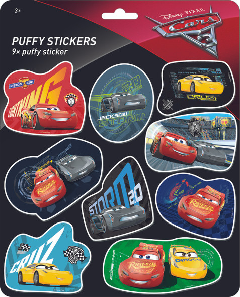 PUFFY STICKERS CARS 3