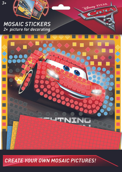 MOSAIC STICKERS CARS 3