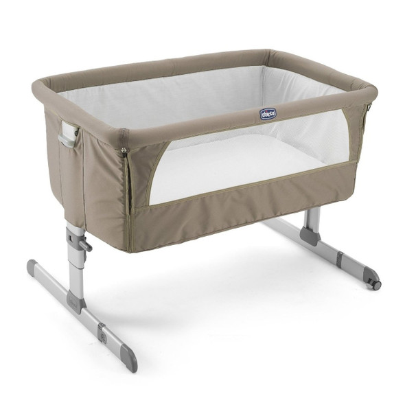 CHICCO NEXT TO ME BEDSIDE CRIB (DOVE GREY)