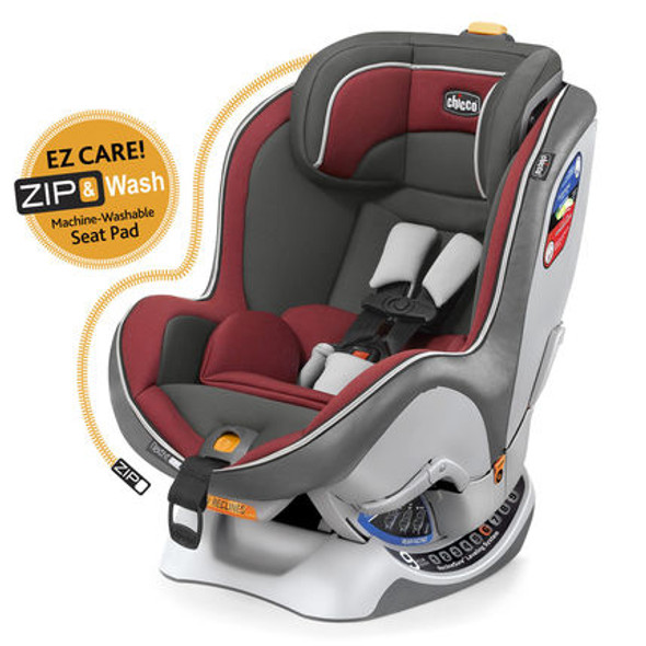 CHICCO NEXTFIT ZIP CAR SEAT (RUBINO)