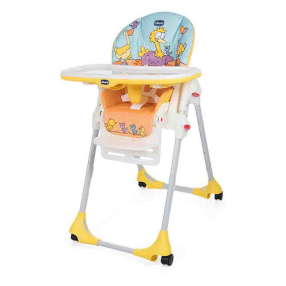 CHICCO POLLY EASY HIGHCHAIR (BIRDLAND)