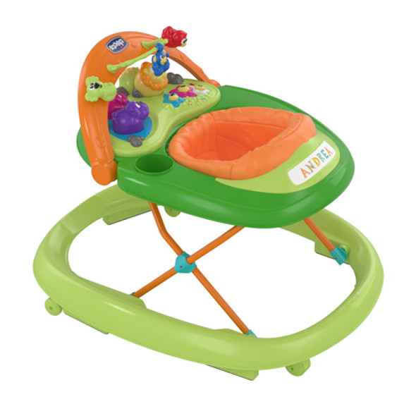 CHICCO WALKY TALKY BABY WALKER (GREEN WAVE)