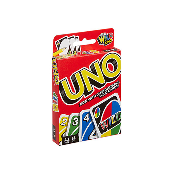 MATTEL GAMES UNO CARDS