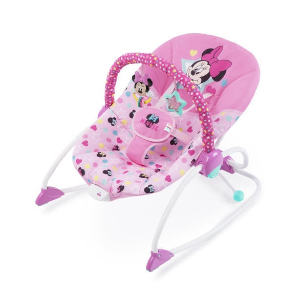MINNIE STARS & SMILES INFANT TO TODDLER ROCKER