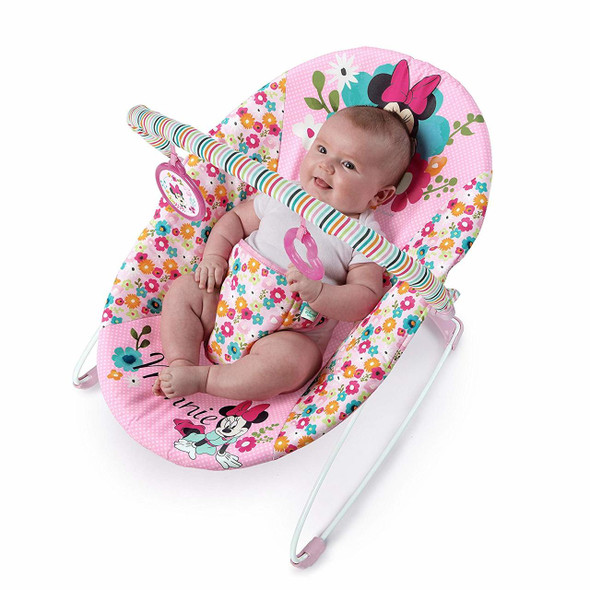 MINNIE PERFECT IN PINK VIBRATING BOUNCER