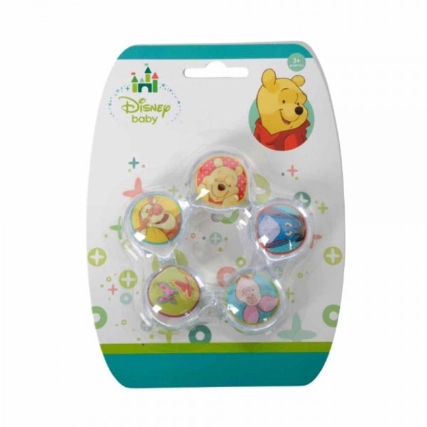 WINNIE THE POOH TEETHING RING WITH WATER FILLING