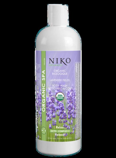 Organic Lavender Fields Body Wash