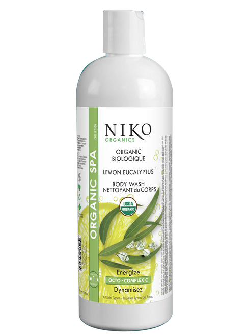 Organic Lemon Eucalyptus Body Wash