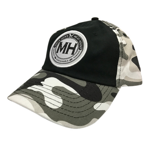 UJMH Camo Hat Front