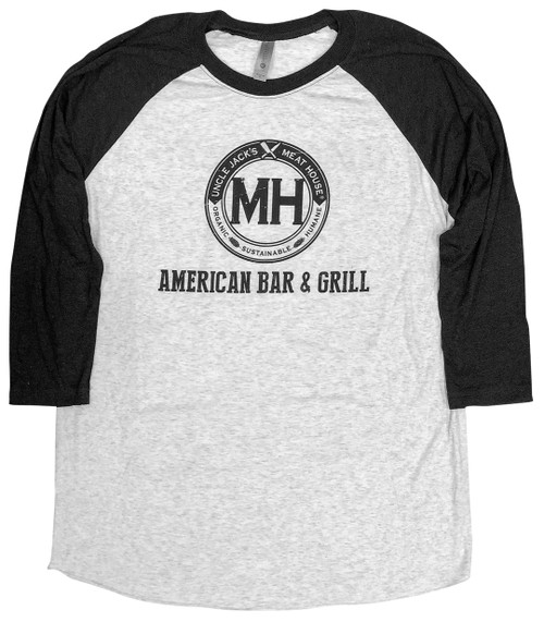 Baseball Black Long sleeve and grey body