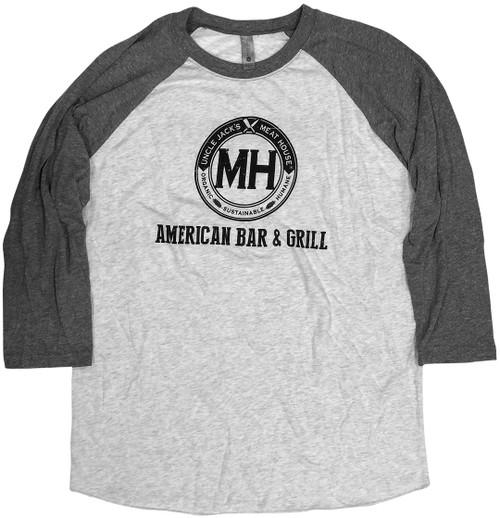Baseball Grey Long sleeve and Grey body