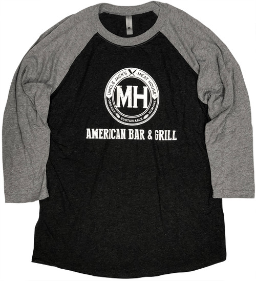 Baseball Grey Long sleeve and Black body