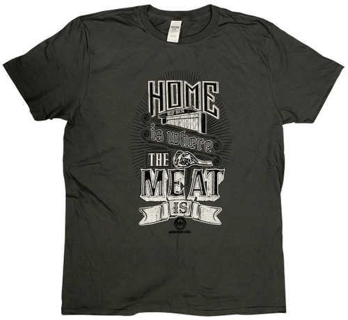 Tee Home IS.. Dark Grey Short Sleeve
