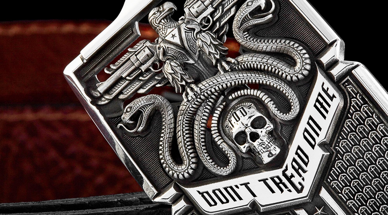 Don/'t Tread on Me Live Free or Die vinyl sticker decal DTOM Gadsden rattlesnake