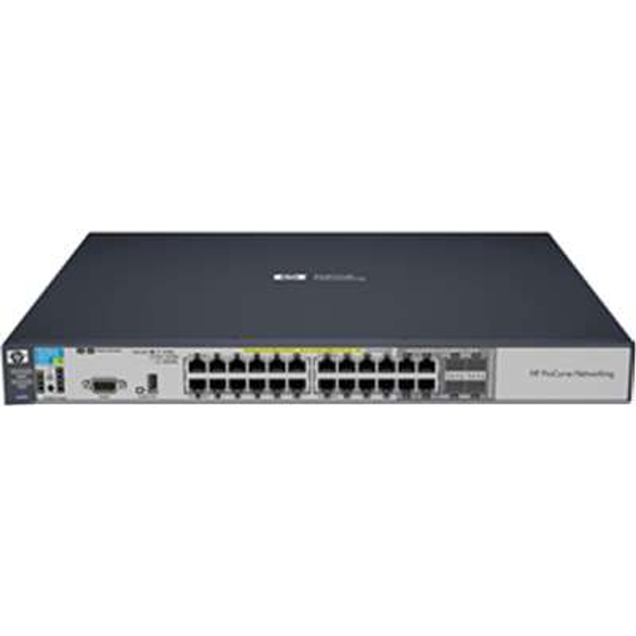 HP J9471A 3500 Series HPE 3500-24-PoE 20-Port Fast Ethernet 4-Port SFP  Switch