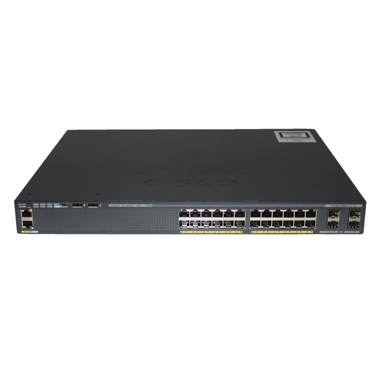 Cisco WS-C2960XR-24PS-I 2960-XR Series 24 Port Gigabit PoE 4 Port SFP Switch
