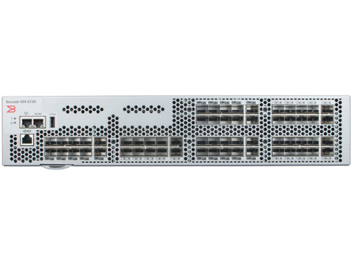 Brocade BR-VDX6720-60-F VDX 6720 60-Port 10GbE SFP+ Front Airflow Switch