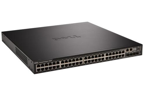 Dell 7048P PowerConnect 7000 Series 48-Port Gigabit PoE+ 4-Port SFP Switch
