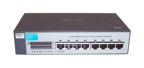 HP J9077A 1400 Series Unmanaged 1400-8G 8-Port Gigabit Ethernet Switch