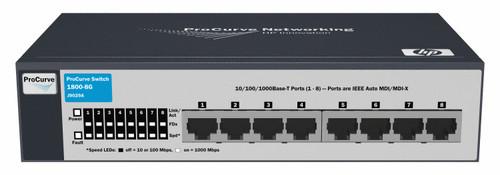 HP J9029A 1800 Series Web-managed 1800-8G 8-Port Gigabit Switch