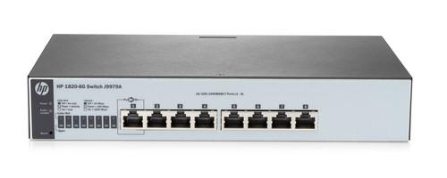 HP J9979A 1820 Series 1820-8G 8-Port Gigabit Switch